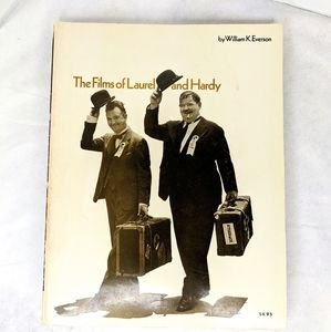 The Film's of Laurel and Hardy 1973 Vintage Book